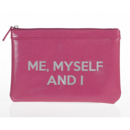 "POCHETTE TROUSSE ""ME, MYSELF AND I"""